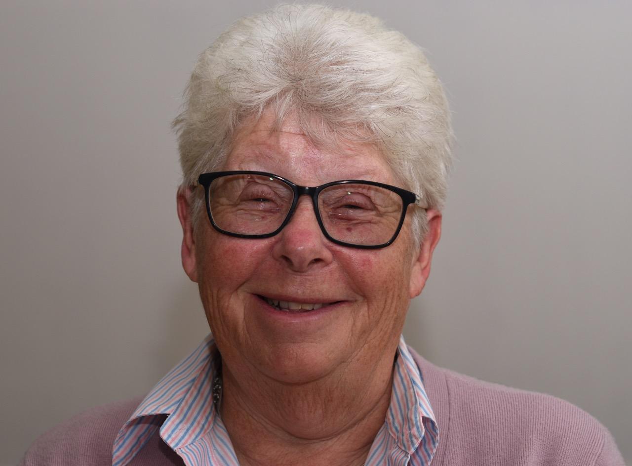 Pastoral secretary Pat