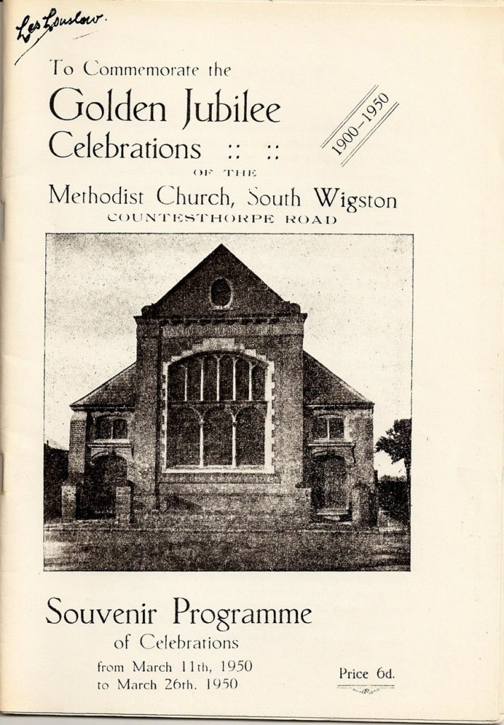 Golden Jubilee booklet, 1950